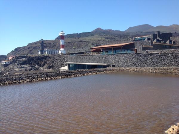 El paisaje de las salinas de Fuencaliente fue declarado en 1994 Espacio Natural de Interés Científico. | DA